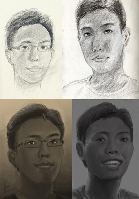 Portrait Montage